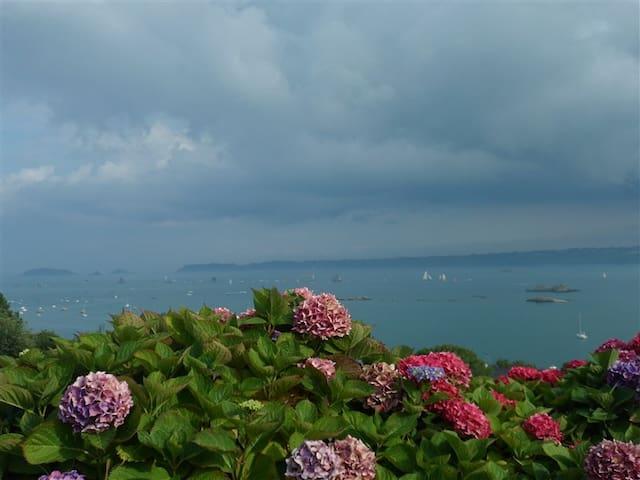 Studio Face à la mer, baie Paimpol - Ploubazlanec - Rumah