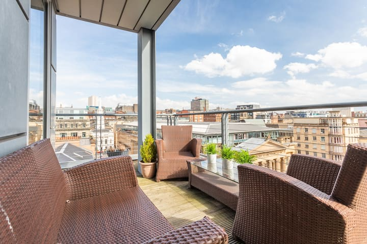 Penthouse Apartment in Merchant City