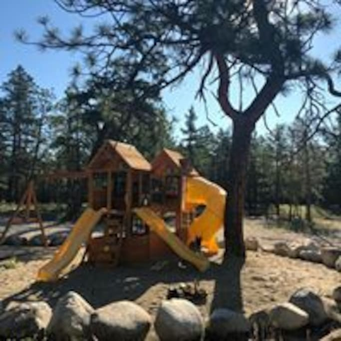 Playground at the campground