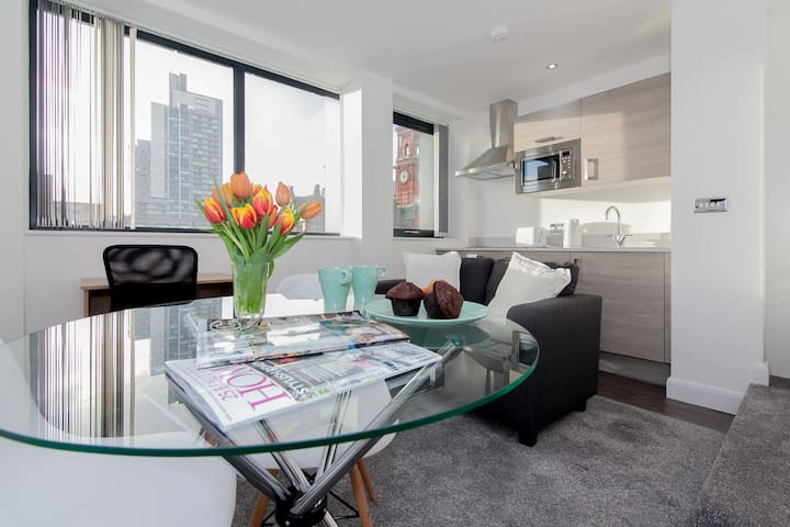 Beautiful Studio Apartment in Central Manchester
