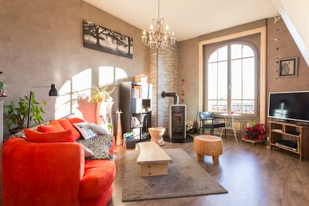 """""""Petit nid"""" dans maison de maître - Saint-Dié-des-Vosges - Apartamento"""