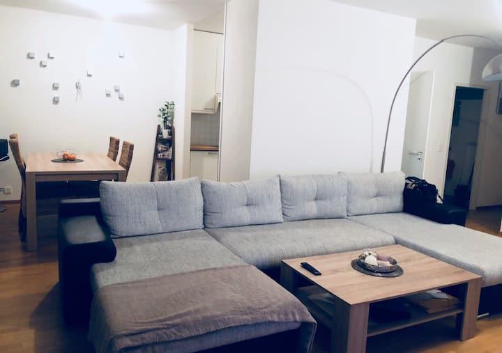Chambre dans appartement spacieux et Lumineux