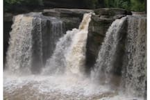 Gorgeous west falls at Cascade Park in Elyria.
