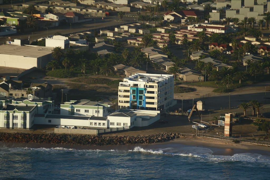 Location of the Building (Beach Hotel)