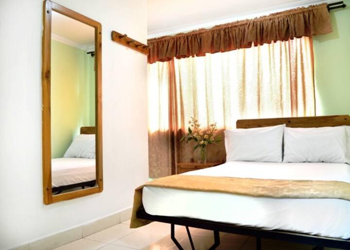 Habitación para pareja privada 2 personas una cama