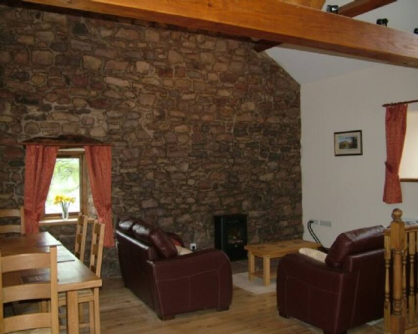 Sycamore Cottage, Lounge, Lakes Cottage Holidays