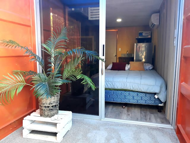 Shipping containers beach aptos: Wander Africa