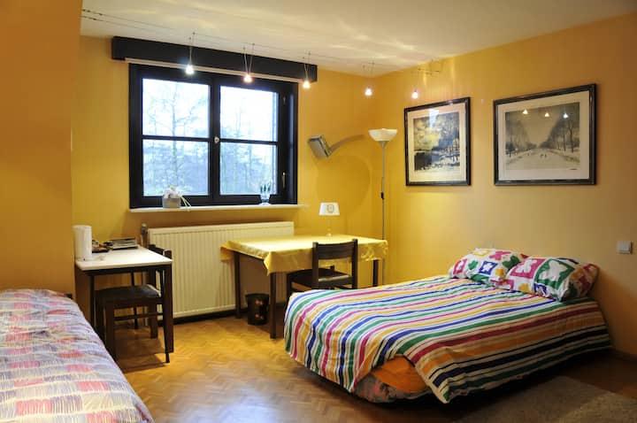 Rustig logement 3p nabij centrum,Sterrebos,AZDelta