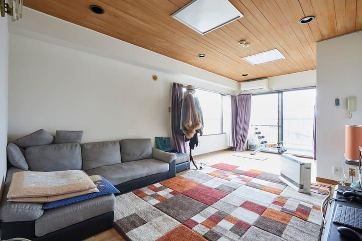 + 日暮里車站 徒步6分鐘 四房一廳分租個室 + - Arakawa-ku - 公寓