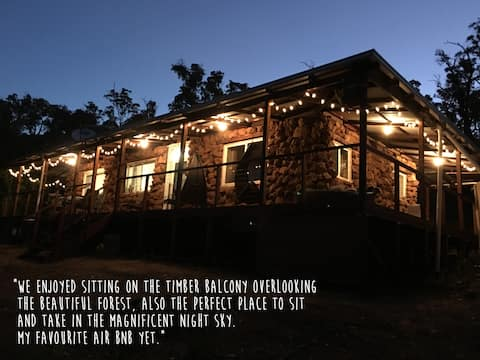 Clearhills, Nannup a beautiful, wilderness cottage