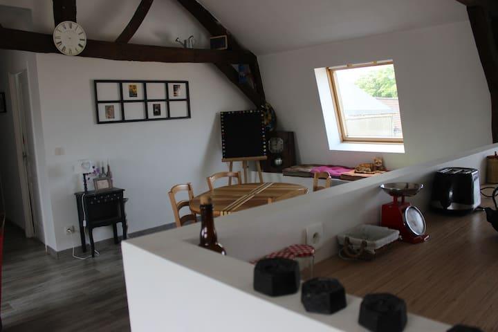 Appartement 60 m2 avec jardin partagé - La Capelle-lès-Boulogne - Pis