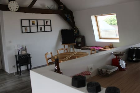 Appartement 60 m2 avec jardin partagé - La Capelle-lès-Boulogne