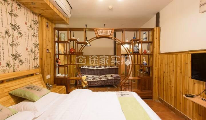 明清木质别墅:古典家庭套房