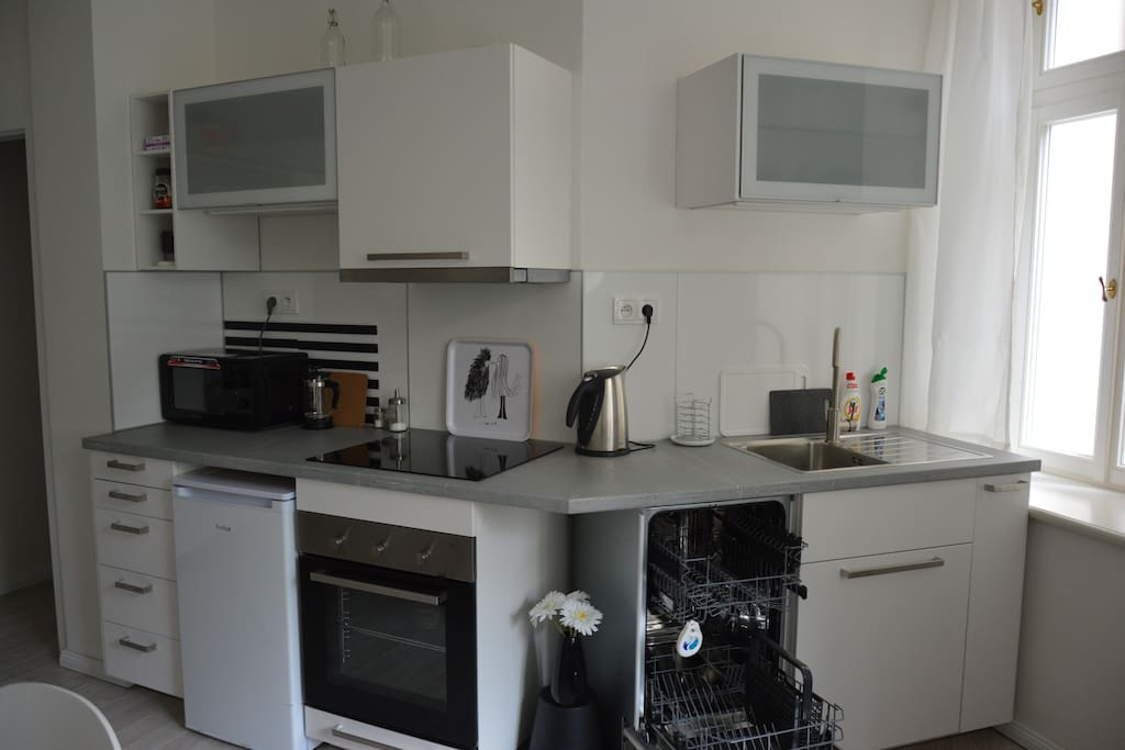 Kitchen fully furbished and equipped