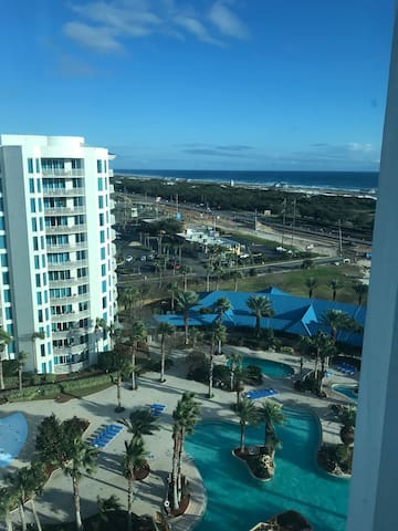 Gulf of Mexico & Lagoon Pool Views from 12th Floor
