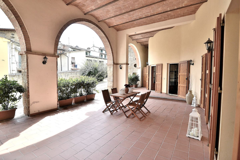 The exclusive big veranda of your apartment!