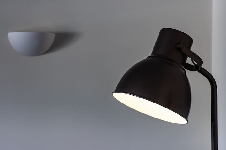 Lamp in Lounge