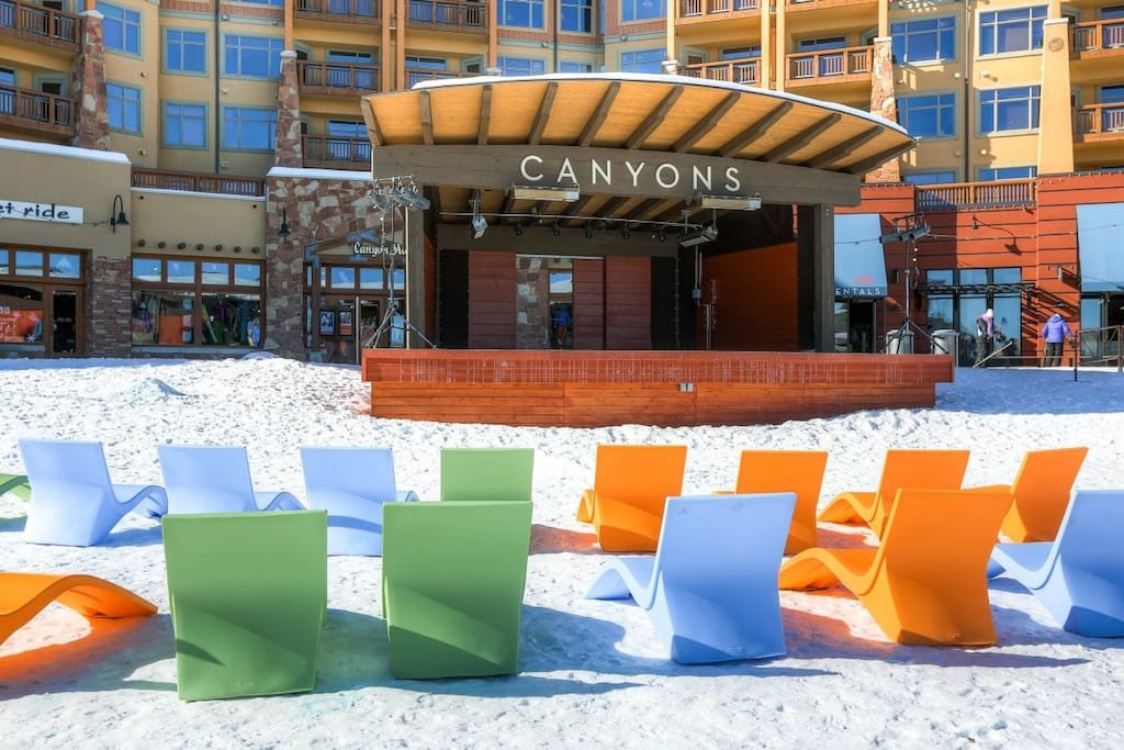 Welcome to Canyons Resort!!