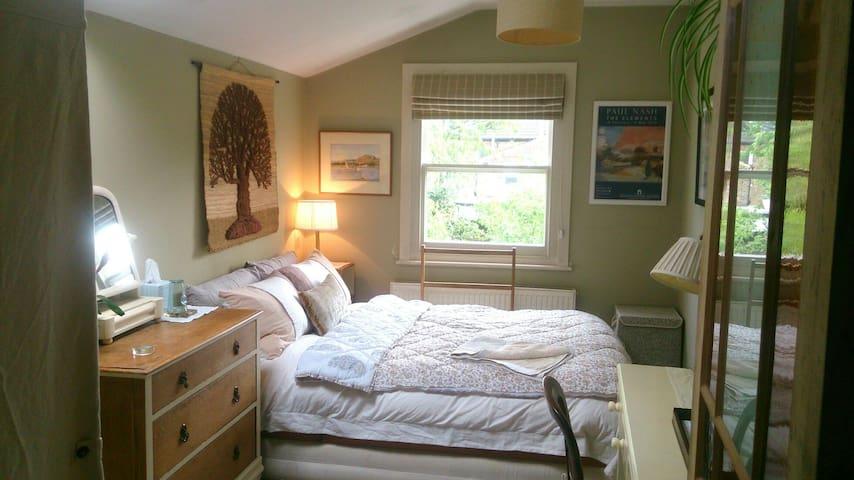 Charming room overlooking garden in period home
