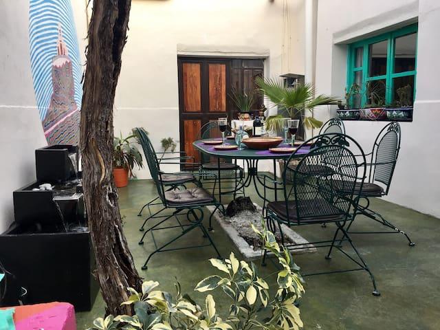 """""""La Casa de la Vid"""" acogedora casita en el corazón de Pueblo Mágico."""