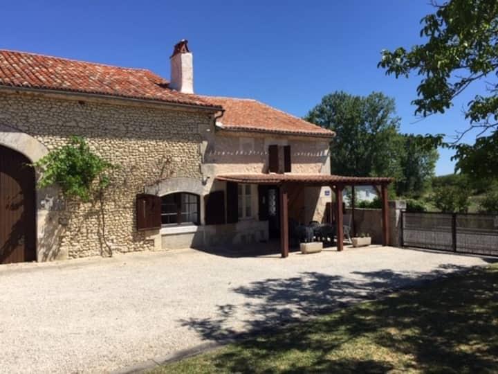 Rustic French Farmhouse in Dordogne Region France