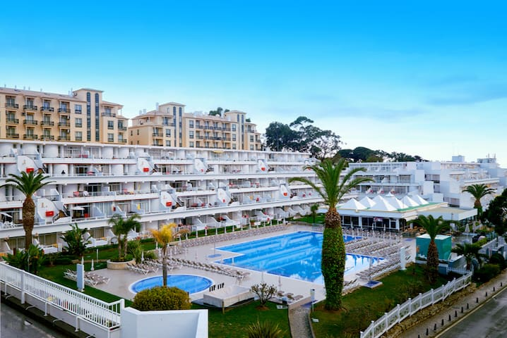 T1 apartment in a hotel in Albufeira - Albufeira - Appartement