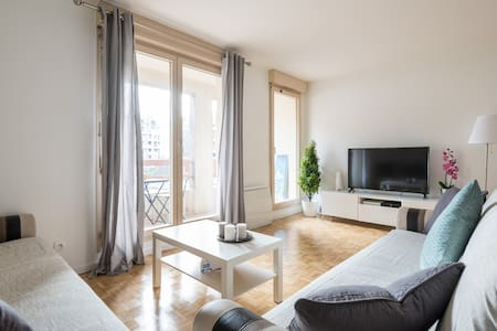 Beautiful and Spacious Apt of 84 m² with Parking