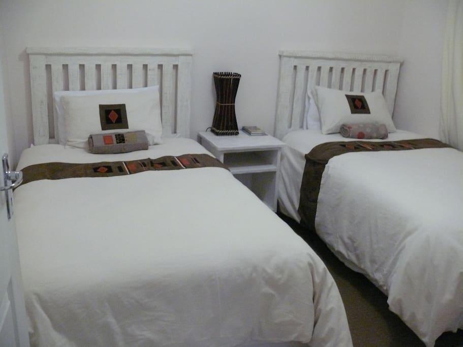 Guest Twin Room sleeps two people
