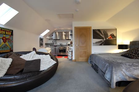 Fab studio apartment Cults Aberdeen - Cults