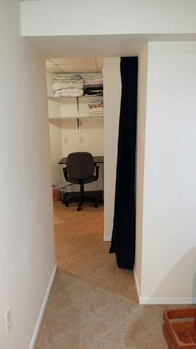desk/chair/privacy curtain