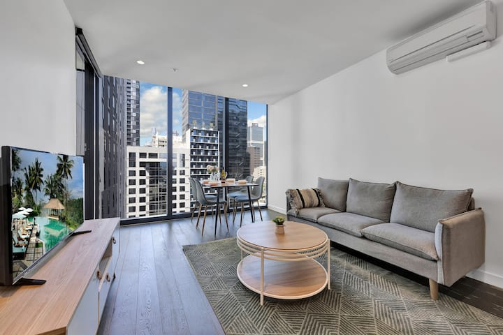EQ Tower 1BR Apt @ CBD Melbourne Central  #2