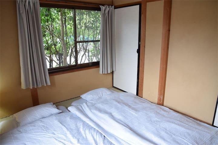 九大学研都市近く静かに暮らせる一軒家 Yoko's House Room C