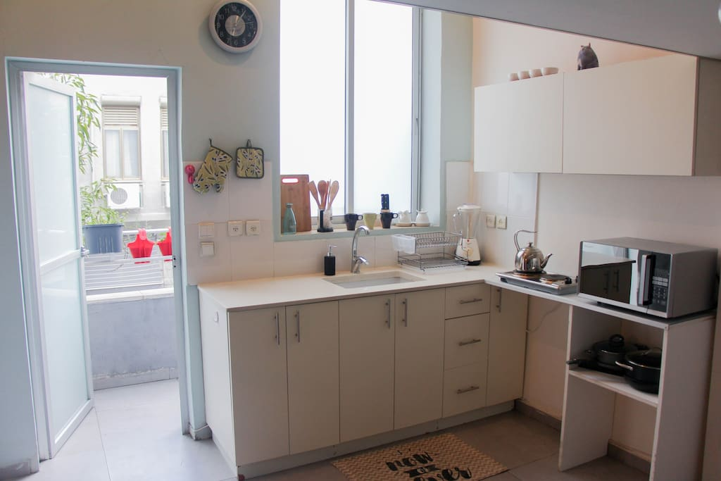 """""""The studio is clean and if you feel like cooking you have pretty much everything you need."""" - Zoé (Switzerland)"""