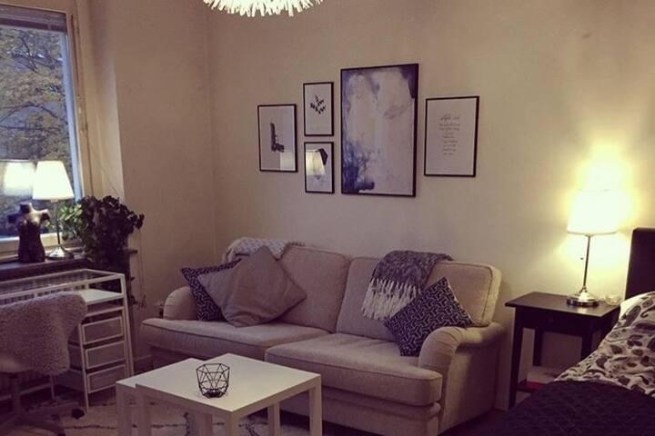 Lägenhet för 1-2, centralt och mysig. Balkong! - Örebro - Wohnung
