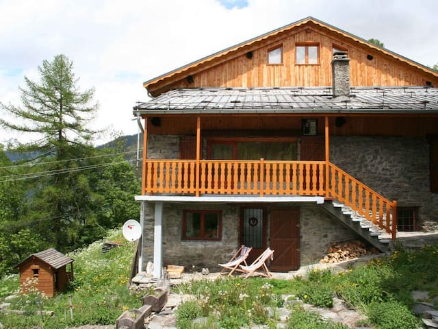 Chalet Sherlock (our lovely alpine home)