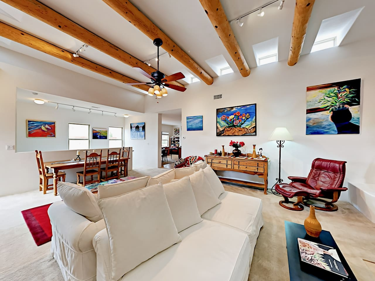 Welcome to Santa Fe! Your rental is professionally managed by TurnKey Vacation Rentals.