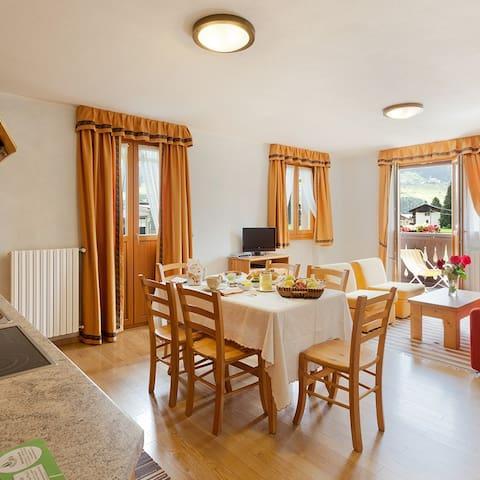 "appartamento ""Lillehammer"",chalet Stelle di Neve - Bormio - Wohnung"