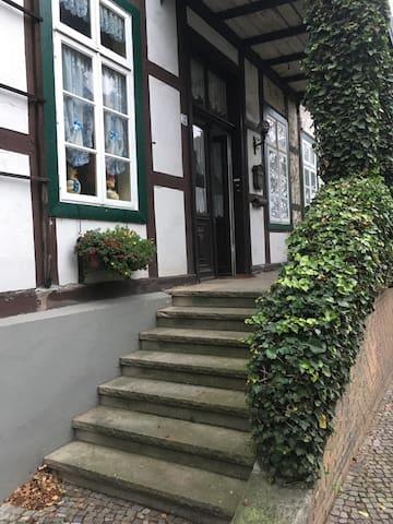 Retro Studio im traditionellen Fachwerkhaus - Bad Essen - Apartamento