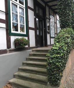 Retro Studio im traditionellen Fachwerkhaus - Appartement