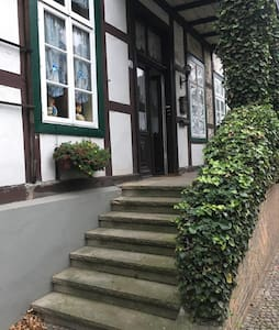 Retro Studio im traditionellen Fachwerkhaus - Bad Essen - Apartment