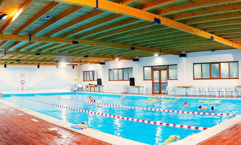 piscina Servizi Hotel Paradiaso , interno residence usufruibili dall ospite ATTIVO DAL 20-12-19