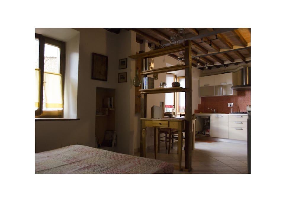 Appartamento chiusdino centro storico appartamenti in for Appartamenti in affitto a bressanone e dintorni