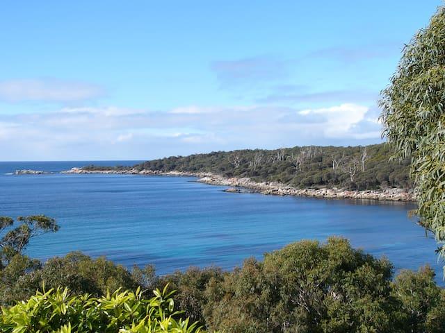 A calm sea view