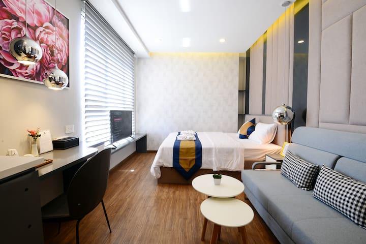 Elegant Home 3-Ben Thanh/Bui Vien- Free Netflix