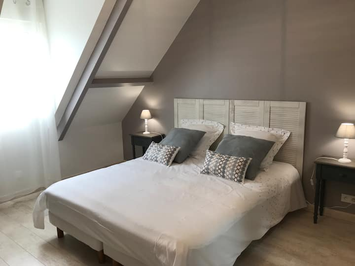 A la croisée des châteaux : chambre grise