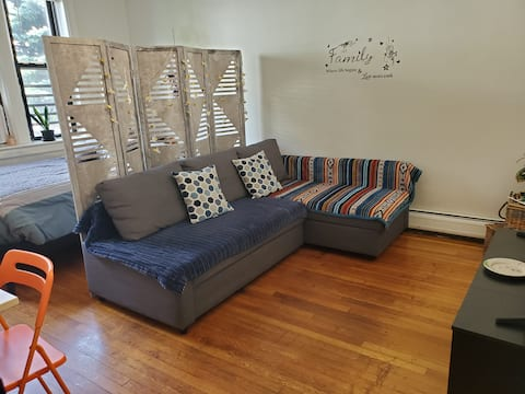 Spacious private room close to Journal Square