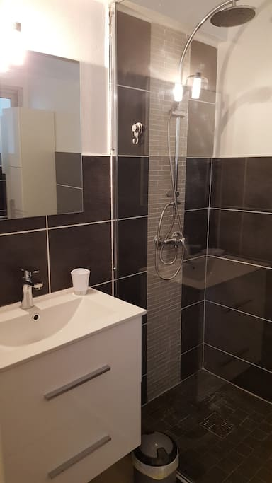 Salle de bain à l'italienne