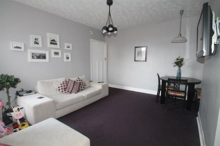 3 bedroom upper flat near city centre and beach - Newcastle upon Tyne - Apartamento