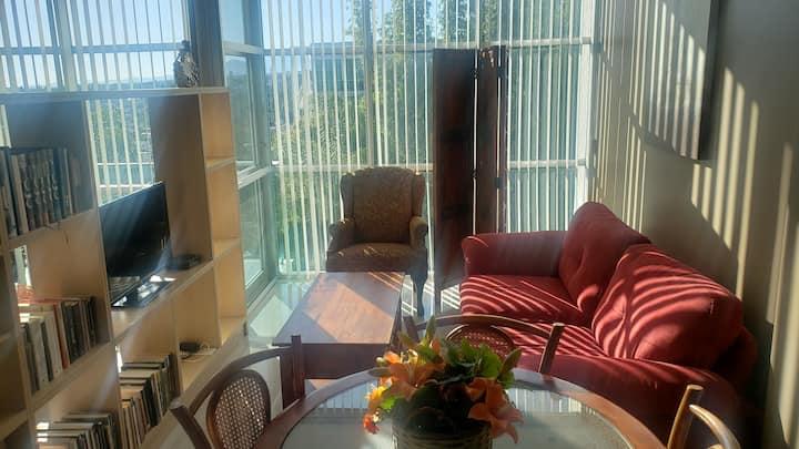 Loft soleado en Cuernavaca.