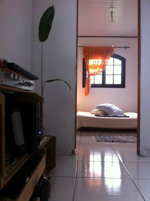 Sala e quarto...
